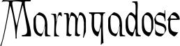 Marmyadose Font