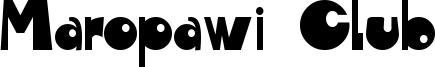 Maropawi Club Font