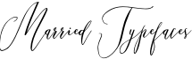 Married Typefaces Font