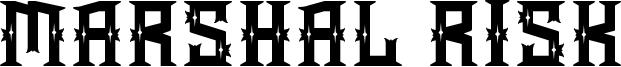 Marshal Risk Font