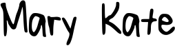 Mary Kate Font