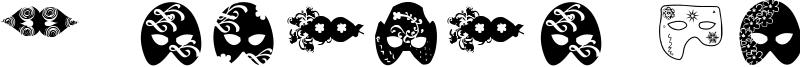 Máscaras de Veneza Font