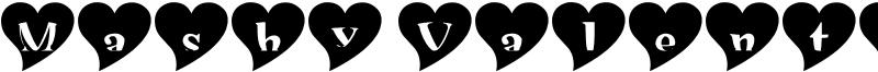 Mashy Valentine Font
