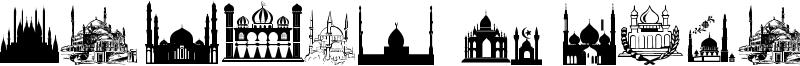 Masjid Al Imran Font