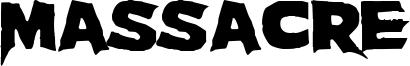 Massacre Font