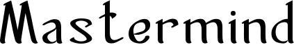Mastermind Font