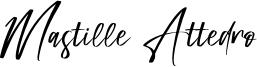 Mastille Attedro Font