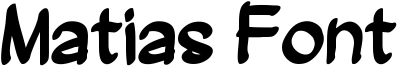 Matias Font Font