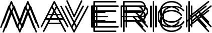 Maverick Font