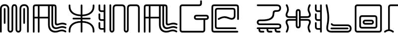 Maximage ZhiLong Font
