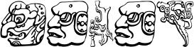 Mayan Font