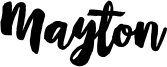 Mayton Font