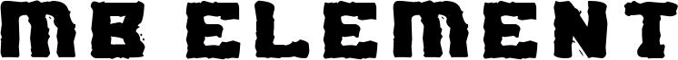 MB Element Font