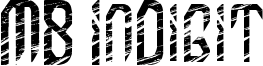 MB InDigit Font