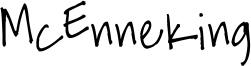 McEnneking Font