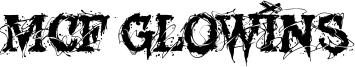 MCF Glowins Font