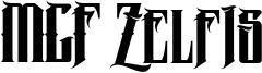 MCF Zelfis Font