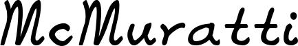 McMuratti Font