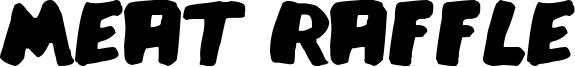 Meat Raffle Font