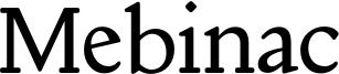 Mebinac Font