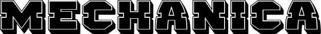 Mechanica Font