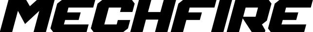 Mechfire Bold Italic.otf