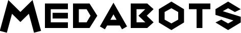 Medabots Font