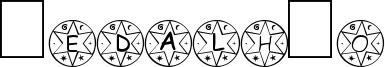Medalhão Font