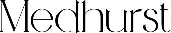 Medhurst Font