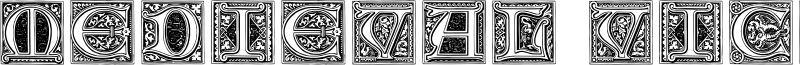 Medieval Victoriana Font