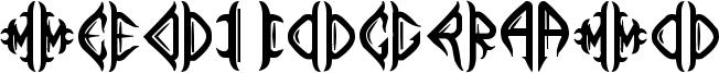 Mediogramo Font