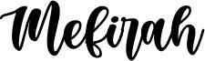 Mefirah Font