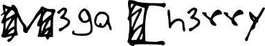 Mega Cherry Font