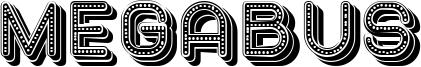 Megabus Font