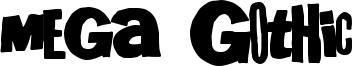 Mega Gothic Font