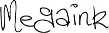 Megaink Font