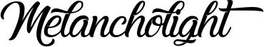 Melancholight Font