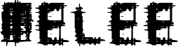 Melee Font