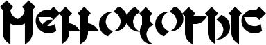 Mellogothic Font