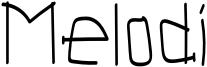 Melodi Font