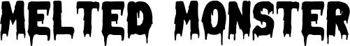 Melted Monster Font