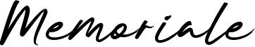 Memoriale Font