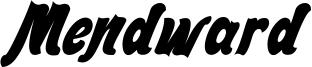 Mendward Font