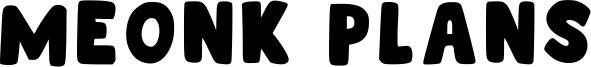 Meonk Plans Font