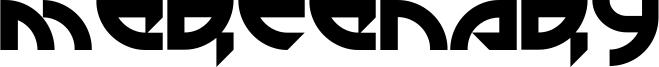 Mercenary Font