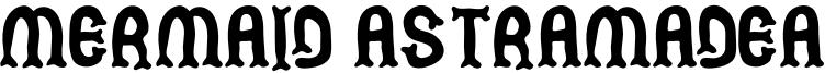 Mermaid Astramadea Font