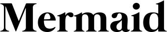 Mermaid Font