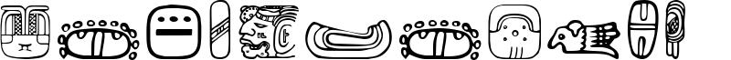 MesoAmerica Dings Font