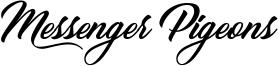Messenger Pigeons Font
