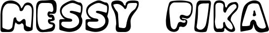 Messy Fika Font